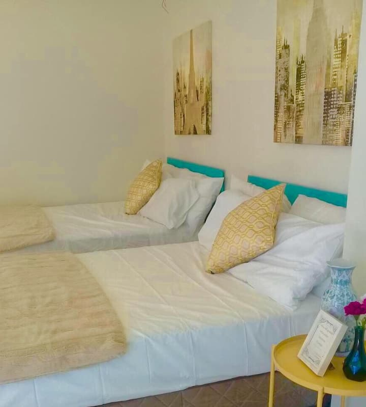 TheGuestHouseLaoag 2 Rooms 2 Bathrooms for 8pax