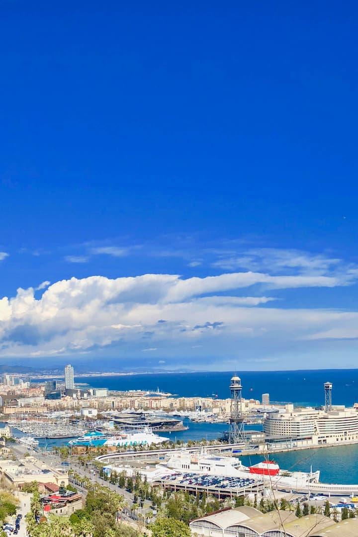 Enjoy amazing views over the city