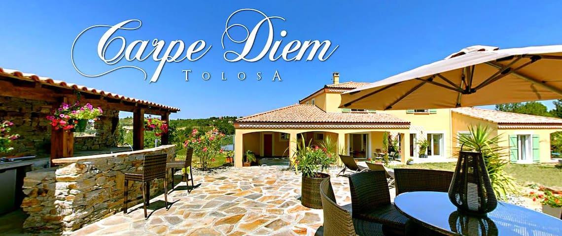 Cadre idyllique piscine, jacuzzi, terrasses... - Vieille-Toulouse - Rumah Tamu