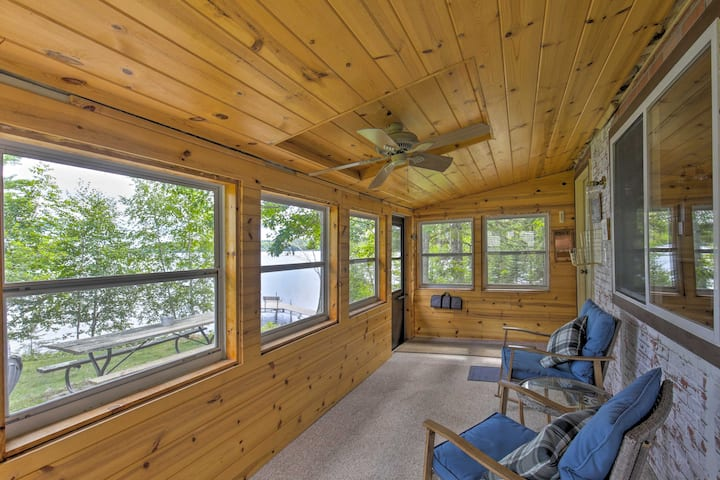 Lakefront Family Escape w/ Views, Dock, & Kayaks!