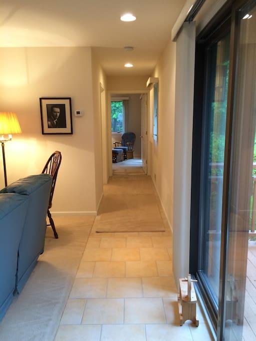 View Entering Your Suite