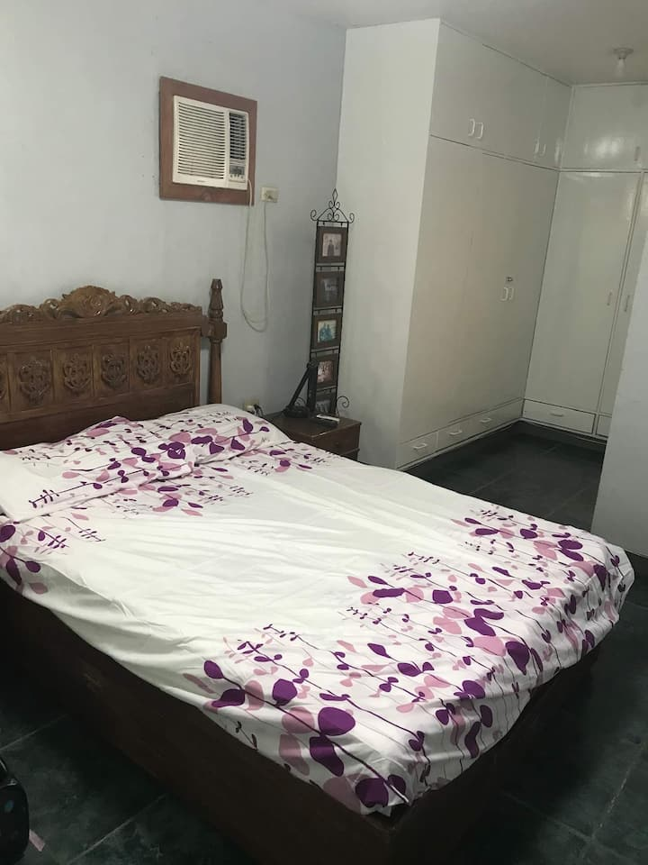 1 master bedroom for 3 with aircon and bathroom