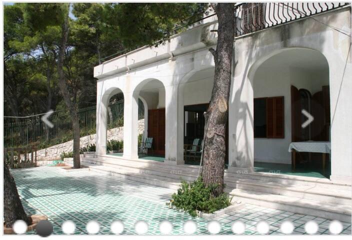 villa vista mare Santa Caterina stanza blu - Нардо - Вилла
