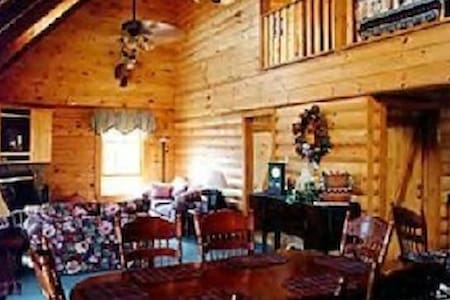LOG CABIN 4,000' IN SMOKIES MTN. - Cullowhee