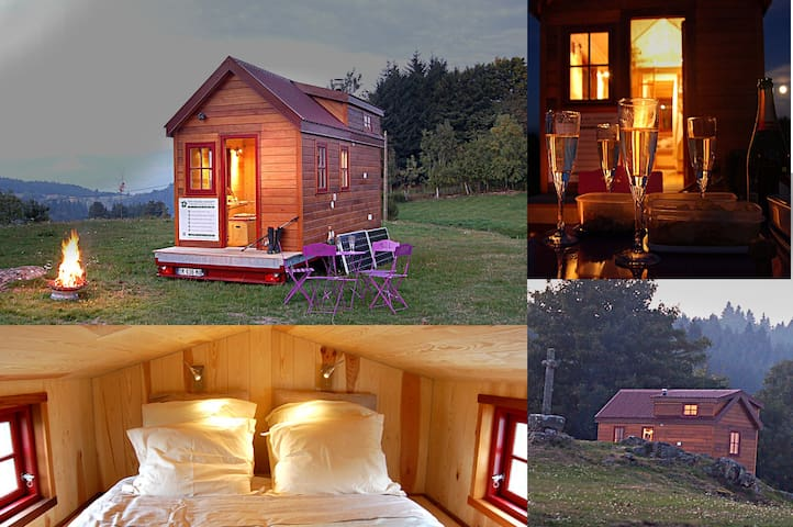 Tiny House en France, en Auvergne - Le Monestier - Dom