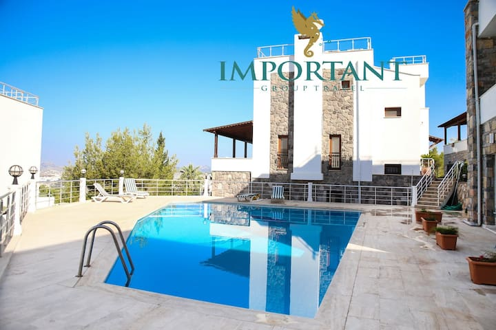 BD318 - 2 Bdr House with shared pool - Bodrum - Casa