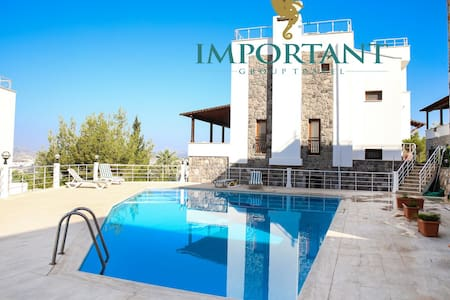 BD318 - 2 Bdr House with shared pool - Bodrum