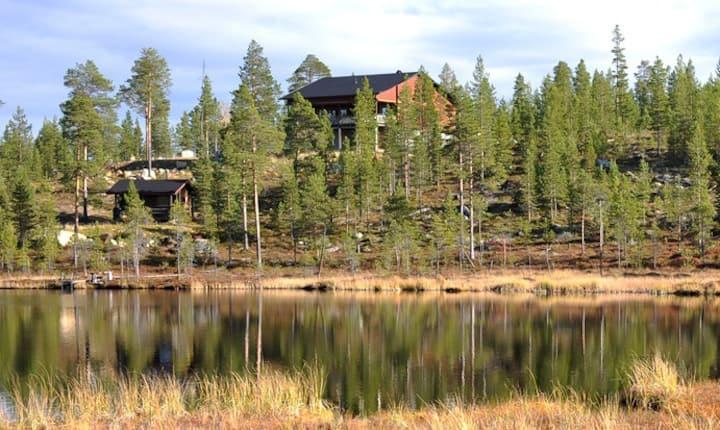 Traditional Guestroom near Lake Inari, Ivalo