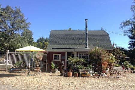 Barn at Redwood Creek Estate - Forestville