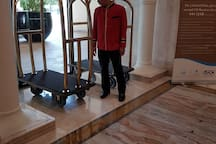 bellboy to help you with luggage