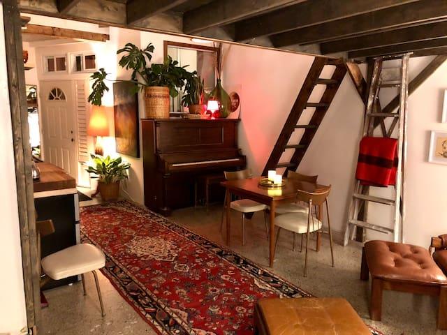 Cozy Artist Workshop