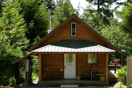 Cozy Cabin in the Redwoods - Arcata - Cabaña