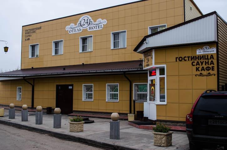 """гостиница """"Отель 24 часа"""" - Barnaul - Pousada"""