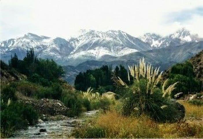 Rio y Montaña / Potrerillos / Mendoza