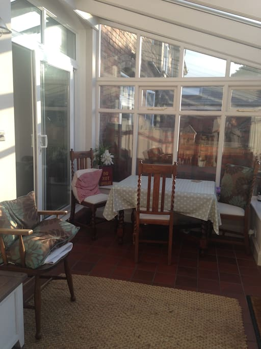 Conservatory to over look the garden