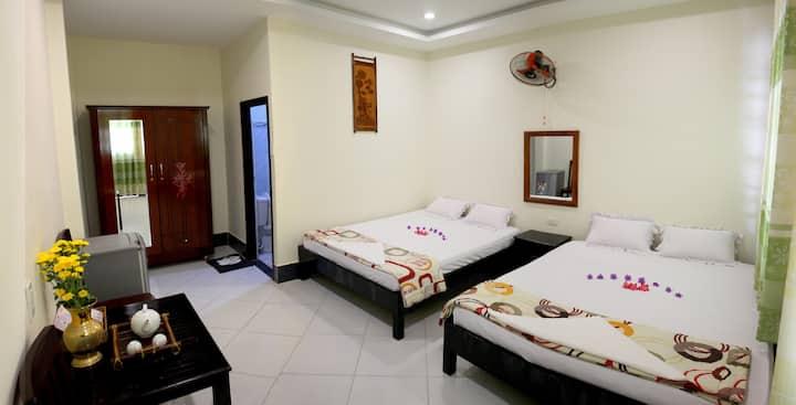 Quadruble  room