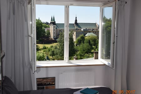 Old town, cosy studio, nice view