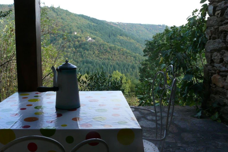 Une terrasse avec vue unique!