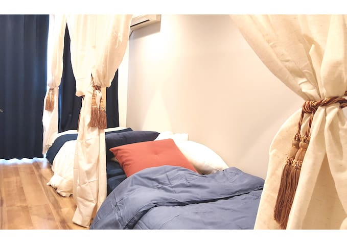 4min>STA Cozy Apartment for 2with WiFi, nearNamba - Tennōji-ku, Ōsaka-shi