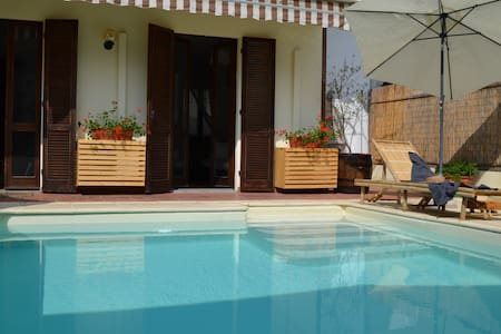 Casa Mafalda - Lovely house with swimming pool - Dormelletto - 独立屋