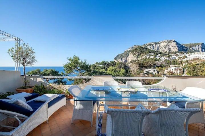"""Capri Blue """"Casa Limoncello"""" a 200 mt dal Centro"""