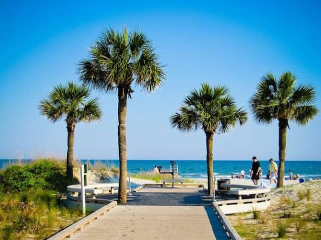 Beachside Condo. Dogs allowed! - Hilton Head Island - Villa