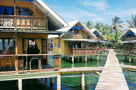 Over the Water Bungalow with Amazing Sea View