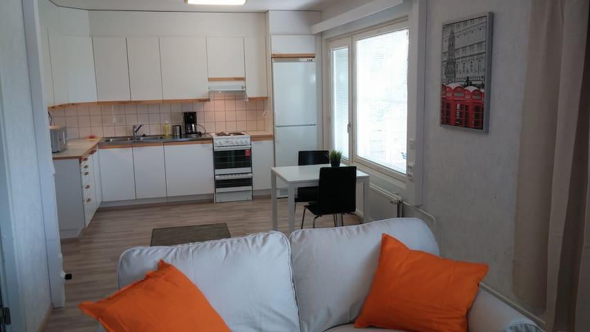 Nice 2-room apartment full of light (ID 6578)