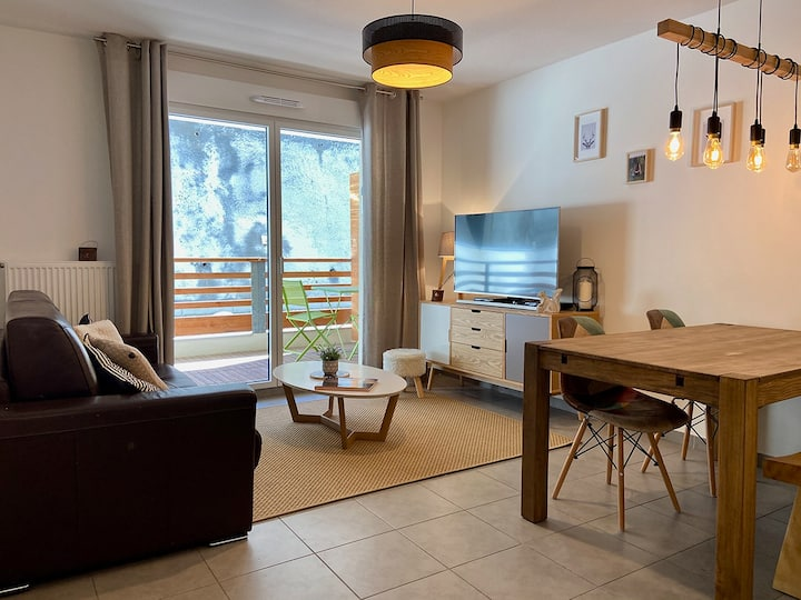 Appartement au Centre de Valberg 2P 40 m2