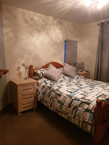 Double bedroom in beautiful bungalow