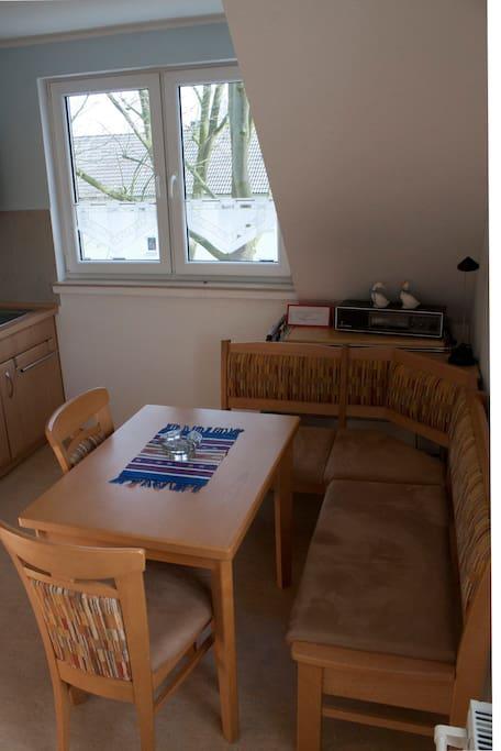 Sitzecke inder Küche