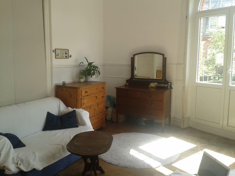 Schlafzimmer - Ausziehcouch