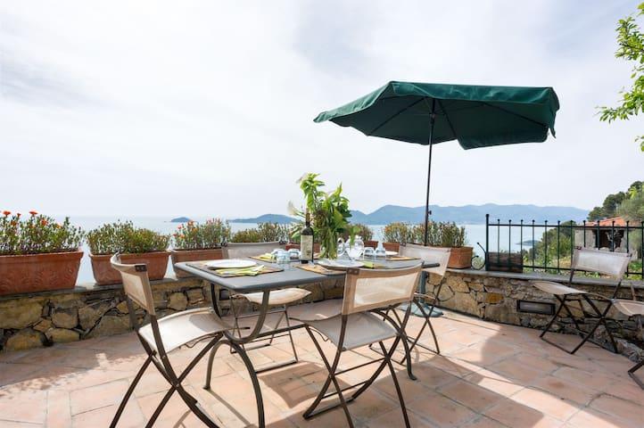 Lerici Liguria 5Terre 3rooms5+1bads - Lerici - Villa