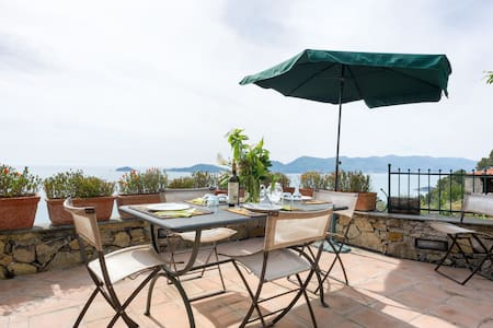 Lerici Liguria 5Terre 3rooms5+1beds - Lerici - Villa