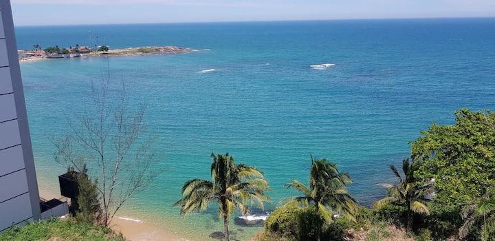 Apartamento com uma vista lindíssima para o mar!