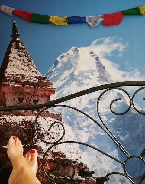Weltenhaus egyszemélyes szoba Nepál