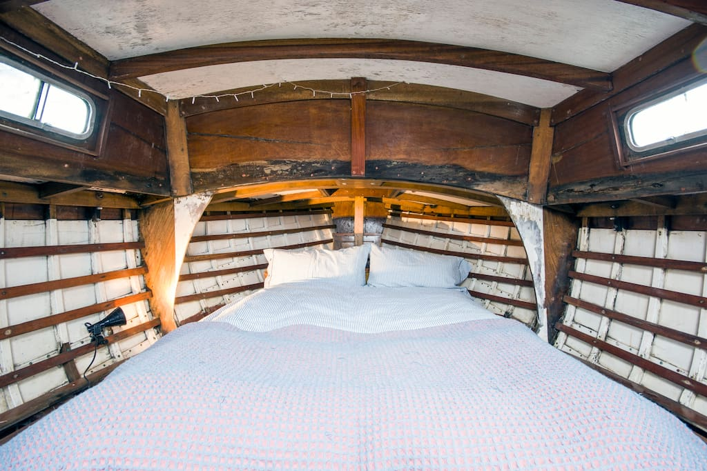 Bed in the boatel