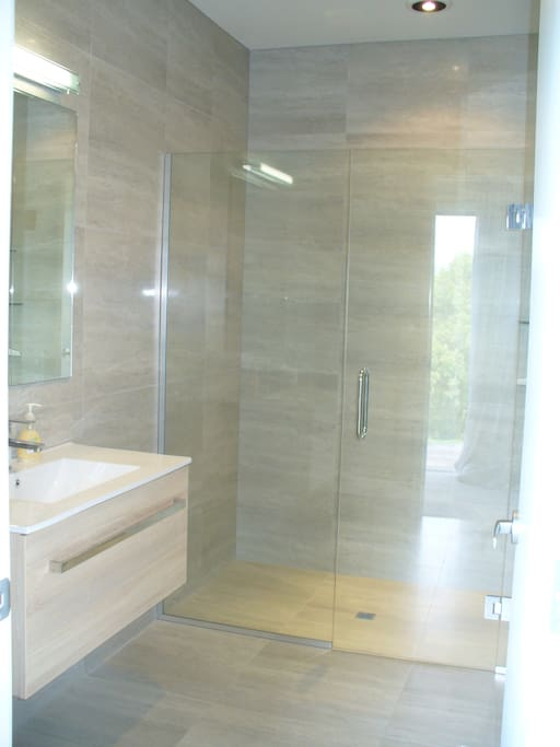 Bathroom and shower