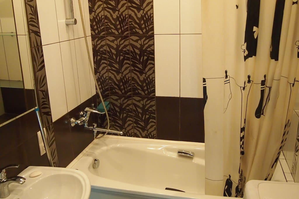 Ванная комната, оформленная со вкусом