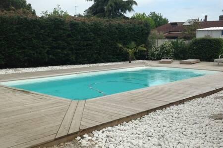 Maison moderne avec piscine privée - Ambarès-et-Lagrave