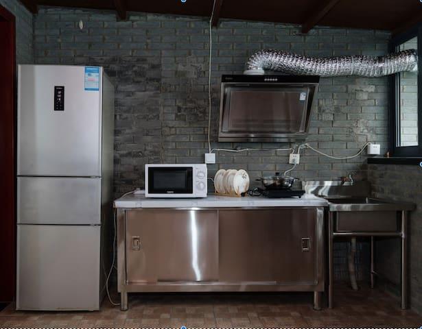 整洁、全新的厨房