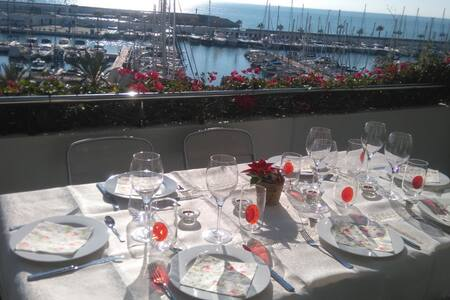 Intimate luxury and  sea view close to Melia hotel - Sitges