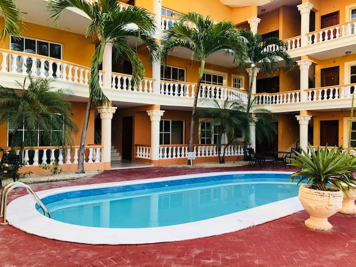 Apartment located in Punta Cana with pool & beach