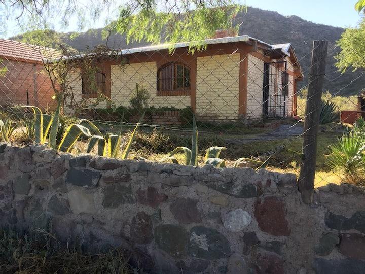 Cabaña en la montaña de Mendoza