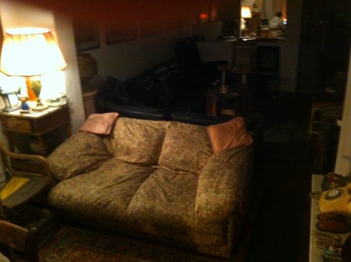 """Sofa Cama en Sala de Estar De Sallent"""