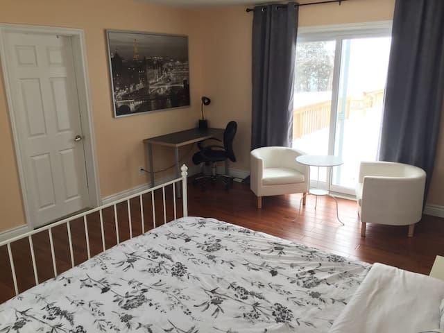 Private Suite by Victoria Hospital &near downtown