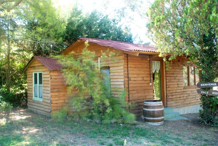 Chalet entiérement en bois au coeur de la nature - Cuers - Blockhütte