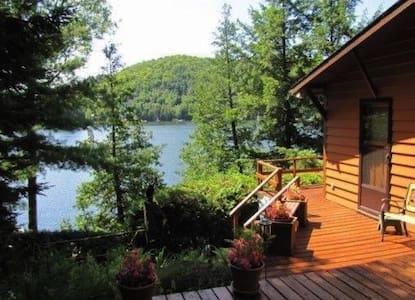 Charmant chalet/Peaceful cottage on beautiful lake
