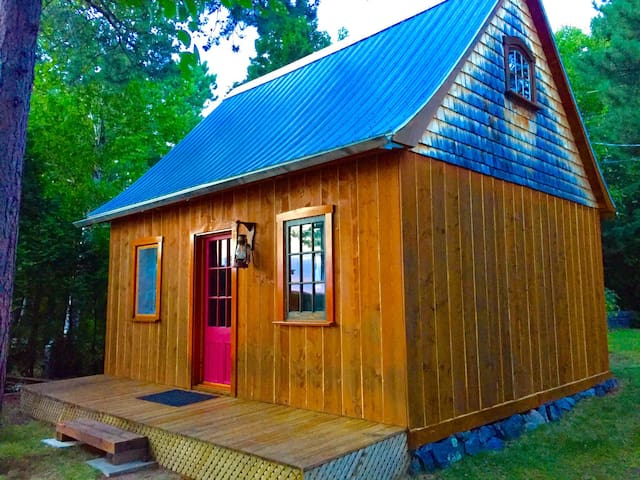 Mini-chalet au Lac-St-Jean - Saint-Henri-de-Taillon - Cottage
