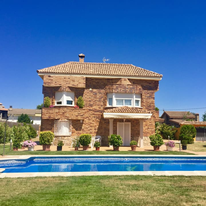 Wonderful house-11PAX-Fresnedillas de la Oliva